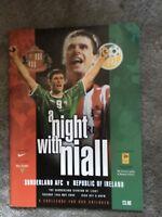 SUNDERLAND AFC V REPUBLIC OF IRELAND MAY 2002 Niall Quinn