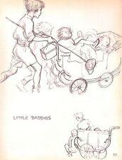 Collection of 50 children's prints.Fab.J.H.Dowd.1934.Nursery.Interior Design.Art