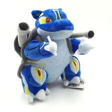 "Blastoise Shellfish Pokemon Kamex Plush Toy From Wartortle Stuffed Animal 8"""