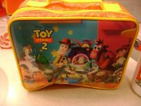 Vintage Toy Story 2 Lunch Bag with Thermos.Complete with tags Woody, Buzz
