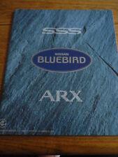 NISSAN BLUEBIRD SSS ARX JAPANESE MARKET, PRESTIGE BROCHURE