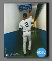New York Yankees Derek Jeter Tunnel Shot Canvas Print signed by Anthony J. Causi