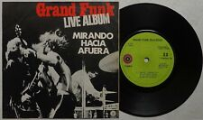 """GRAND FUNK 'Inside Looking Out' 1971 Mexican 7"""" vinyl EP, VERSION 1"""