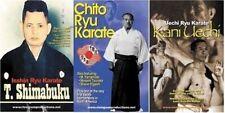3 Dvd Set Okinawan Karate Masters Shimabuku Uechi Chitose old B/W footage