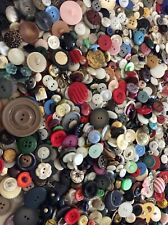 New listing Antique / Vintage Large Lot Of Mixed Buttons 2+ Pounds