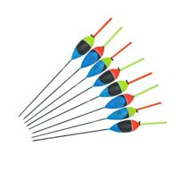 Fishing Floats Buoy Bobber Stick For Fish Tackle Vertical Accessories 10 Pcs/Set