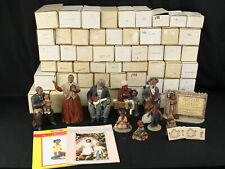 All God's Children Martha Holcombe Lot of 63 Boxed Figurines Signed Uncle Bud +