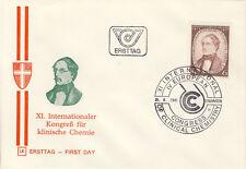 Ersttagsbrief Österreich MiNr. 1676, Internationaler Kongress für Klinische Chem