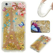 Dynamic Quicksand Glitter Liquid Soft TPU Case Cover For Samsung Galaxy Phones