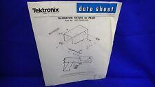 Tektronix Calibration Fixture For P6303 067-0865-00 Data Sheet