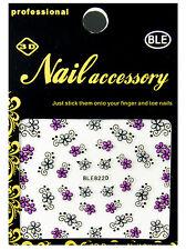 Nail-Art-Zubehör in Silber mit Glitzer Effekt