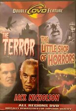 The Terror/The Little Shop Of Horrors (DVD) Free Shipping in Canada