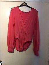 Boohoo Body V-Neck Tops & Shirts for Women