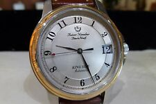 RAINER NIENABER GERMANY King Size Date 18k Gold Bezel Automatic Bünde/Westf