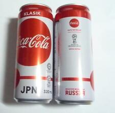 COCA COLA Coke Can MALAYSIA 330ml FIFA World Cup RUSSIA Collect 2018 JAPAN