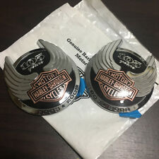 Genuine OEM 2008 Harley Davidson Classic 105th Anniversary Tank Emblems Badges