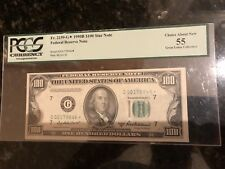 1950B $100 Star Note Currency Bill Certified Choice PCGS