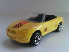 matchbox 1997 MG MGF in yellow