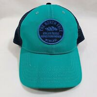 The North Face Unisex Patch blue Mesh Snapback Trucker Hat Cap