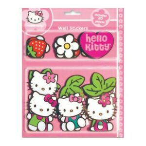 Sanrio Decorations Wall Stickers Hello Kitty 20 Parts IN Foam Washable