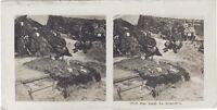 La Trench Grande Guerre WW1 Foto Stereo Vintage Analogica