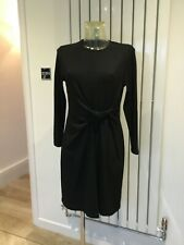 BNWT LADIES MARKS & SPENCER  BLACK RIBBED STYLE  DRESS SIZE 14 r