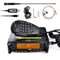 TYT TH7800 Dual Band Dual Display Repeater Car Truck Ham Radio 50W CTCSS + Mic