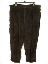 Dockers Khaki Men's  Corduroy Pants Jeans 40/32 Brown Pleated