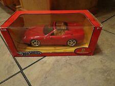1:18 SCALE--HOT WHEELS--RED FERRARI SUPERAMERICA CAR (LOOK)