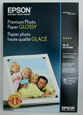"Epson Premium Photo Paper GLOSSY 13""x19""  (19 Sheets) S041289 Excellent Cond.!"