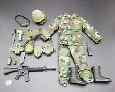 "1:6 Ultimate Soldier US Army Infantry Uniform Lot 12"" GI Joe Dragon 21 Toys BBI"