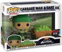 Cabbage Man & Cart 2019 Avatar: The Last Airbender Funko POP! #656 (SEALED NEW)
