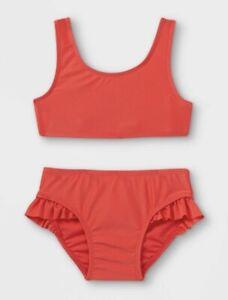 2T Red Toddler Girls' 2pc Bikini Set - Cat & Jack