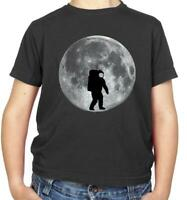 Astronaut On The Moon Kids T-Shirt - Space - Galaxy - Universe - Planet