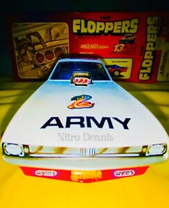 NHRA 1:24 Diecast SNAKE Top Fuel NITRO Funny Car DON PRUDHOMME Racing FLOPPERS