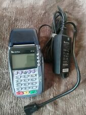verifone vx570 Credit Card Machine Reader With Power Cable And Battery