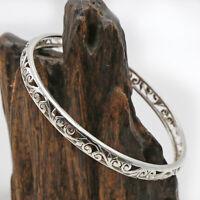 Armreif Silber 925 Armspange Echt Sterlingsilber Filigran Handschmuck Reif  ts