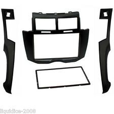 CT24TY30 TOYOTA YARIS 2007 to 2011 DARK GREY DOUBLE DIN FASCIA FRAME ADAPTER