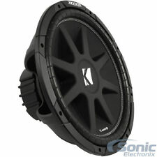 """2 x NEW KICKER 43C154 Comp Series C154 15"""" Subs, Pair of Single 4 ohm Subwoofers"""