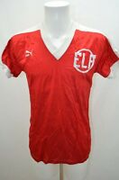 PUMA MAILLOT T SHIRT DE FOOT SPORT FOOTBALL JERSEY 36 S ROUGE