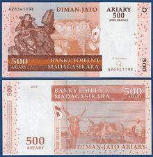 MADAGASKAR / MADAGASCAR  500 Ariary 2004 UNC  P.88 b