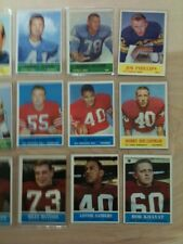 Philadelphia 1964 lot of 18 cards VG+ to Ex range.