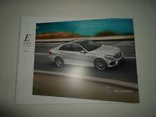 2014 MERCEDES BENZ E Class Sedan Wagon Sales Brochure Manual OEM BOOK 14 DEAL