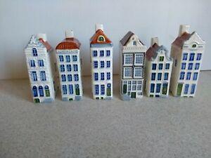 Vintage Amsterdam Herengracht Royal Goedewaagen Poly Delft Holland House <D58 H1