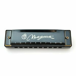 Magma Harmonica, 10 Holes 20 Tones Blues Diatonic Harmonica Key of C For Adults,