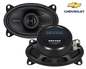 CRUNCH 6x4 COAXIAL SPEAKERS FOR CHEVROLET K-Serie K1500 - 1990-1999