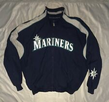 Seattle Mariners Majestic Vintage 2000s Authentic Zip Jacket Size XL RARE