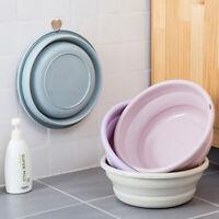 Plastic Portable Camping Folding Wash Basin Collapsible Bucket/ Dish Tub