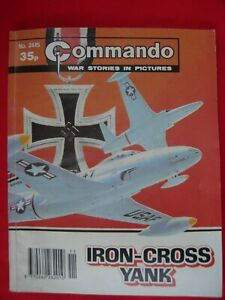 Commando War Stories in Pictures comic book style military
