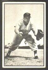 1953 Bowman B&W #32 Rocky Bridges CINCINNATI REDS ~ VG